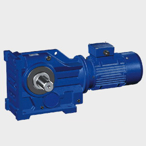 K_series_helical_bevel_gear_speed_reducer